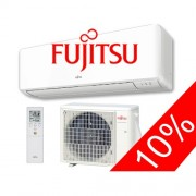 Fujitsu ASYG12KMTA / AOYG12KMTA Standard split klíma szett 3.4 kW-os