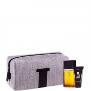 Homme Azzaro pour homme confezione eau de toilette 100 ML Eau de Toilette + 50 ML Hair & Body Shampoo + Toilet Bag