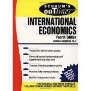 Schaum's Outline of International Economics, Paperback/Dominick Salvatore