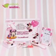Set Moț 1 An - Pink Minnie Mouse - 6 Piese