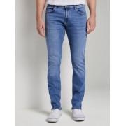TOM TAILOR Troy Slim Jeans, mid stone wash denim, 31/34