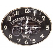 ART Zegar ścienny Art-Pol 100608 Metalowy Harley 48 cm