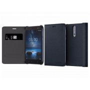 Nokia 8 Leather Flip Cover CP-801 Blue
