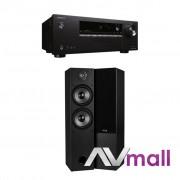 Pachet Receiver AV Onkyo TX-SR252 + Boxe Dayton Audio T652 Dual desigilat