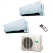General Fujitsu Climatizzatore/Condizionatore Fujitsu General Dualsplit Parete AOHG14LAC2 + ASHG07LUCA + ASHG07LUCA