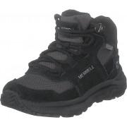 Merrell Ontario Mid Waterproof Black, Skor, Kängor och Boots, Vandringskängor, Svart, Unisex, 37