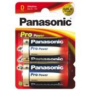 Panasonic Pro Power Alkaline D 2x