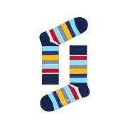 Happy Socks-Sokken-Stripe Socks-Blauw