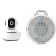 Zemini Wifi CCTV Camera and Clip Bluetooth Speaker for SAMSUNG GALAXY STAR 2(Wifi CCTV Camera with night vision |Clip Bluetooth Speaker)