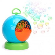Kemuse Automatic Bubble Machine for Kids 500 Bubbles per Minute, Durable Bubble Maker