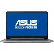 Laptop Asus VivoBook S15 S510UN-BQ135 15.6 inch FHD Intel Core i7-8550U 8GB DDR4 1TB HDD 128GB SSD nVidia GeForce MX150 2GB Gray Metal