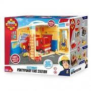 Fireman Sam Electronic Pontypany Fire Station With Lights, Sound & Phrases