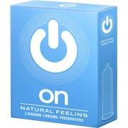 Preservativi classici On! Natural Feeling 3 pezzi