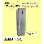 Whirlpool WNF9T2ZXH alulfagysztós hűtőszekrény , A++ energiaosztály , NoFrost