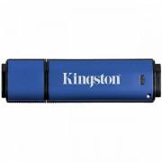 Kingston 64GB USB 3.0 DTVP30/ 256bit AES Encrypted FIPS 197, EAN: 740617223415 DTVP30/64GB