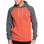 Quiksilver Sweat à capuche Quiksilver Everyday gris rouge