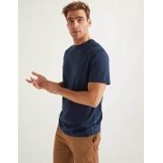 Boden Navy Vorgewaschenes T-Shirt Herren Boden, XS, Blue