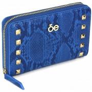 Billetera Cloe Detalle Studs - Azul