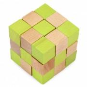 MAIKOU madera de haya columpio cola de dragon bloques de construccion - color mezclado