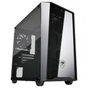 CASE, COUGAR MG120-G, Mini Tower, Black /No PSU/ (CG385TMZ00002)
