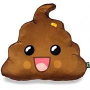 Almofada de Pelúcia Dr. Pepper Cocozinho Feliz Emoji
