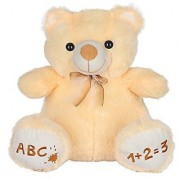 Ultra Fluffy Teddy Bear 15 Inches - Butter
