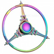 eiffel tower fidget hand spinner relief relief toy - colorido
