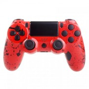 Custom Controllers PlayStation 4 Controller - Red Splatter