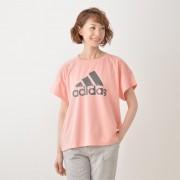 アディダス ビッグロゴ半袖Tシャツ【QVC】40代・50代レディースファッション