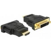 Adaptor Delock 65467 HDMI male la DVI 24+5 female Negru