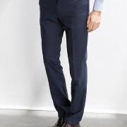 Aansluitende broek, blue super 130's