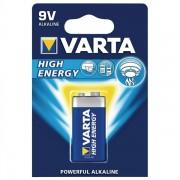 Varta 9V HIGH ENERGY Batteri E-Block