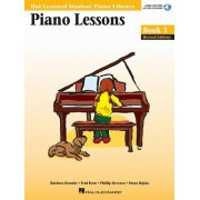 Piano Lessons, Book 3 [With CD (Audio)]