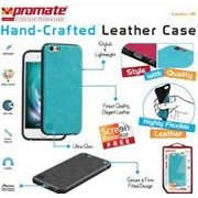 Promate Lanko-i6 Leather Flexible Snap-on Case -