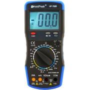 HOLDPEAK 760B Digitális multiméter VAC VDC AAC ADC ellenállás kapacitás frekvencia.