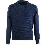 Suitable Pullover Dunkelblau Dreieck - Blau M
