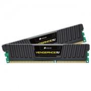 Memorie Corsair Vengeance LP Black 16GB (2x8GB) DDR3 1600MHz CL9 1.35V Dual Channel Kit, CML16GX3M2C1600C9