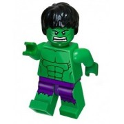 LEGO Marvel Super Heroes Exclusive Mini Figure Hulk with Ripped Purple Pants Bagged