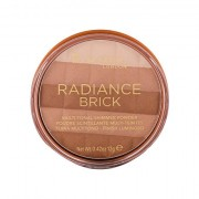 Rimmel London Radiance Brick bronzer 12 g tonalità 001 Light donna