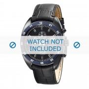 Giorgio Armani Bracelet de montre Armani AR5916 Cuir Noir 22mm