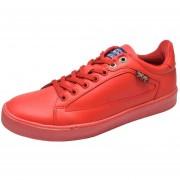 Tenis Pepe Jeans Para Hombre Casual -Wayne - Rojo