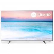 "Philips 55pus6554/12 Tv Led 55"" 4k Ultra Hd Smart Tv Wifi Classe A+ Colore Argen"