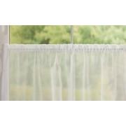 Nyírt krepp voila függöny méterben Gigi, 01 fehér/017/Cikksz:01140345