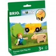 Farm játszószett - kislányos - Brio