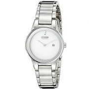 Citizen Analog Silver Round Women's Watch-GA1050-51A
