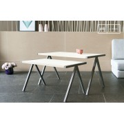 Table basse scandinave gigogne Arlanda