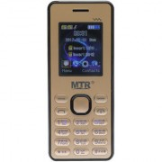 MTR MT-STAR DUAL SIM MOBILE PHONE IN GOLDEN AND BLACK COLORS