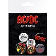 AC / DC Kitűzők - GB posters - BP0664