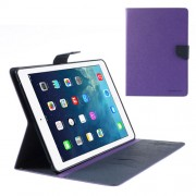 Mercury Goospery Fancy Diary Case for iPad Mini / iPad Mini 2 - Purple