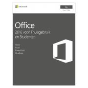 Microsoft Office voor Mac 2016 Thuisgebruik& Studenten 1Mac